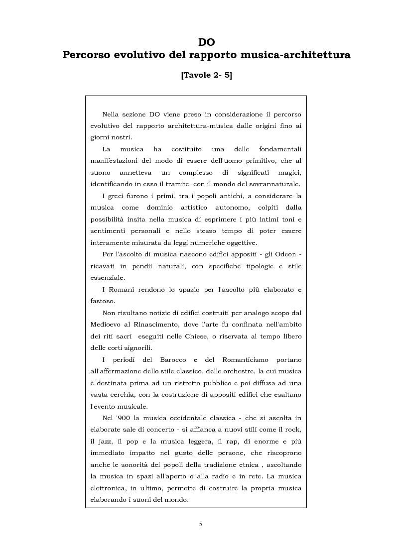 Anteprima della tesi: Spazi per la musica, Pagina 5