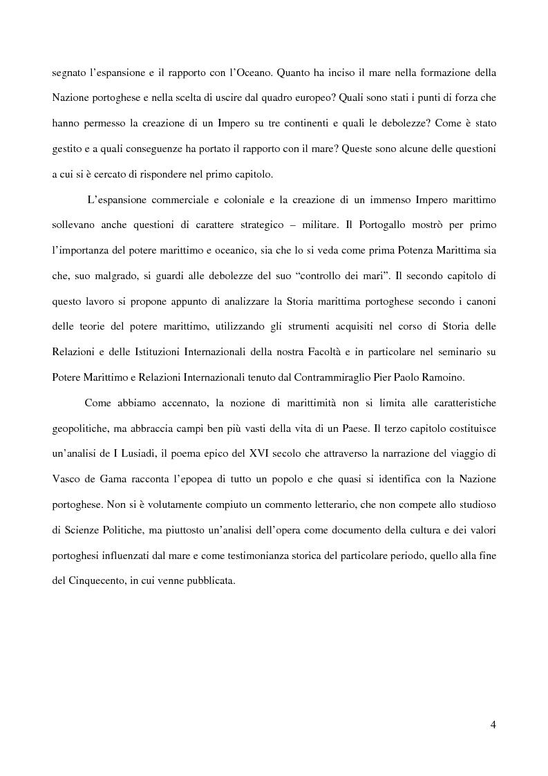 Anteprima della tesi: Il Portogallo e la marittimità, Pagina 2