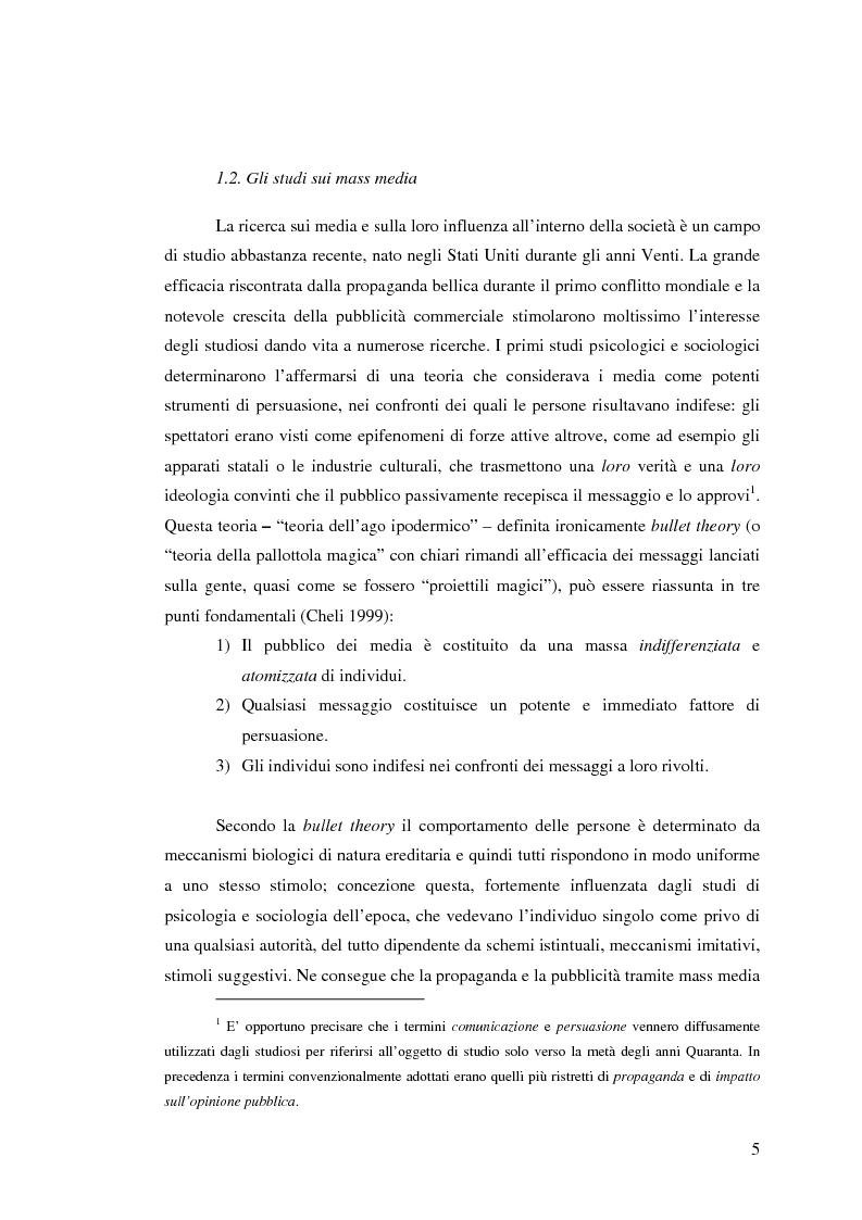Anteprima della tesi: Osservare chi guarda. Il medium televisivo negli studi di antropologia culturale, Pagina 5