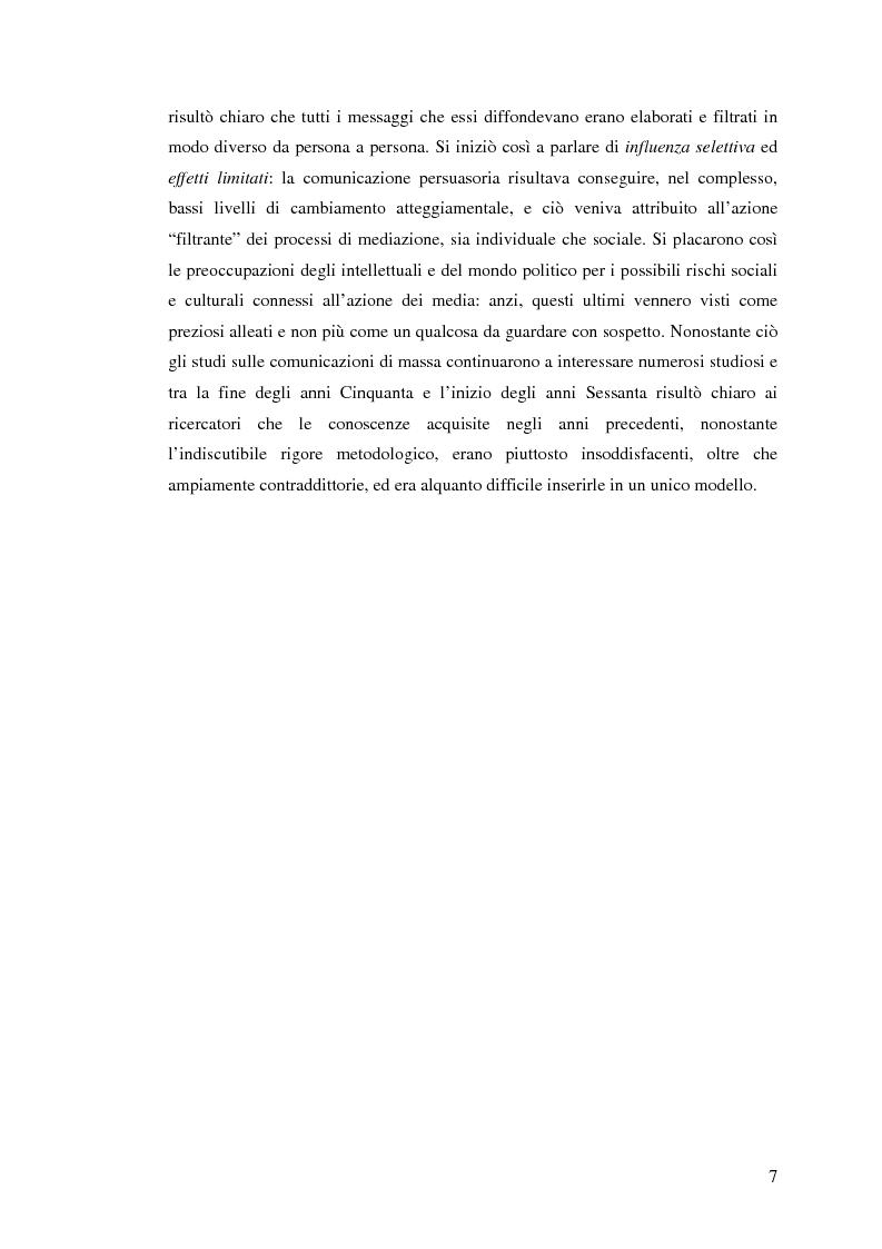 Anteprima della tesi: Osservare chi guarda. Il medium televisivo negli studi di antropologia culturale, Pagina 7