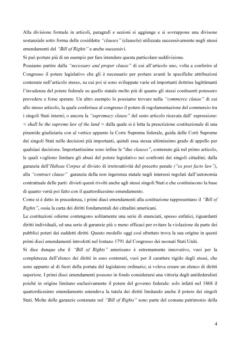 Anteprima della tesi: Due Process Clause, Pagina 4