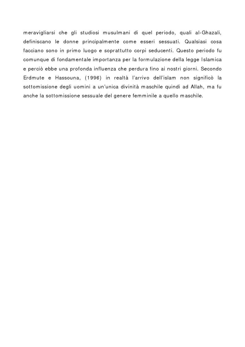 Anteprima della tesi: La rappresentazione sociale della donna musulmana in alcuni quotidiani della stampa italiana, Pagina 6