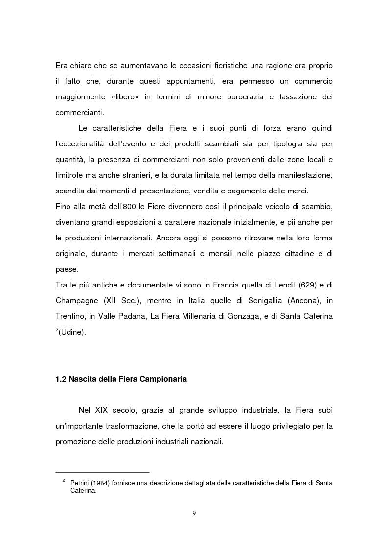 Anteprima della tesi: La Fiera di Padova, Pagina 6
