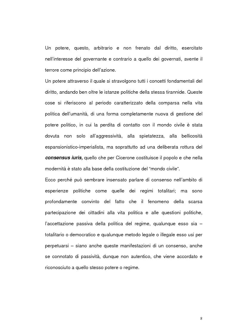 Anteprima della tesi: Il problema del consenso nelle analisi di tre filosofi contemporanei: Hannah Arendt, Jurgen Habermas, Charles Taylor, Pagina 6