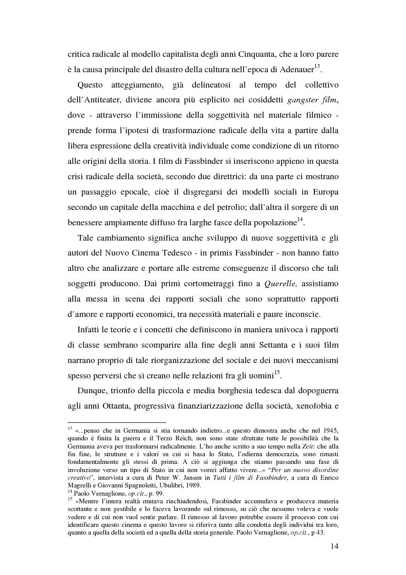 Anteprima della tesi: Analisi delle figure femminili nel cinema di Rainer Werner Fassbinder, Pagina 9