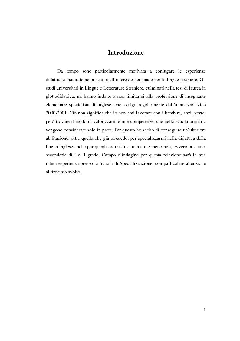 Teaching communicatively in a traditional class - Tesi di Laurea