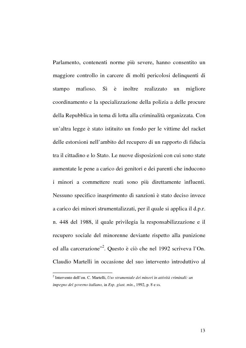 Anteprima della tesi: Reati di particolare gravità e sospensione del processo con messa alla prova dell'imputato, Pagina 10