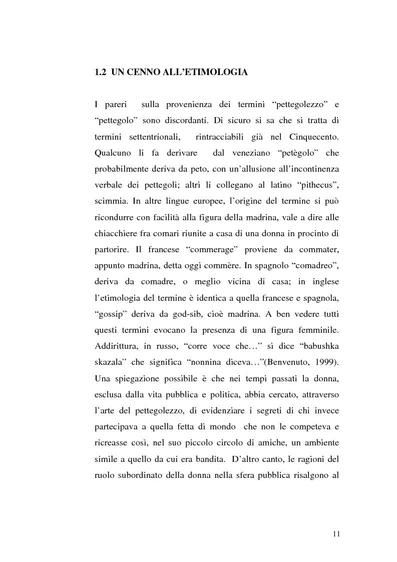 """Anteprima della tesi: Il gossip """"al femminile"""" come diretta conseguenza del sessismo ambivalente, Pagina 9"""