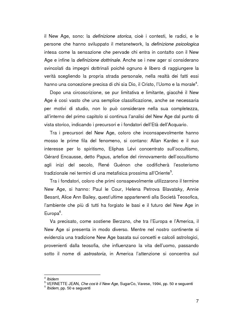 Anteprima della tesi: New Age e Scientology: nuovi movimenti religiosi?, Pagina 3
