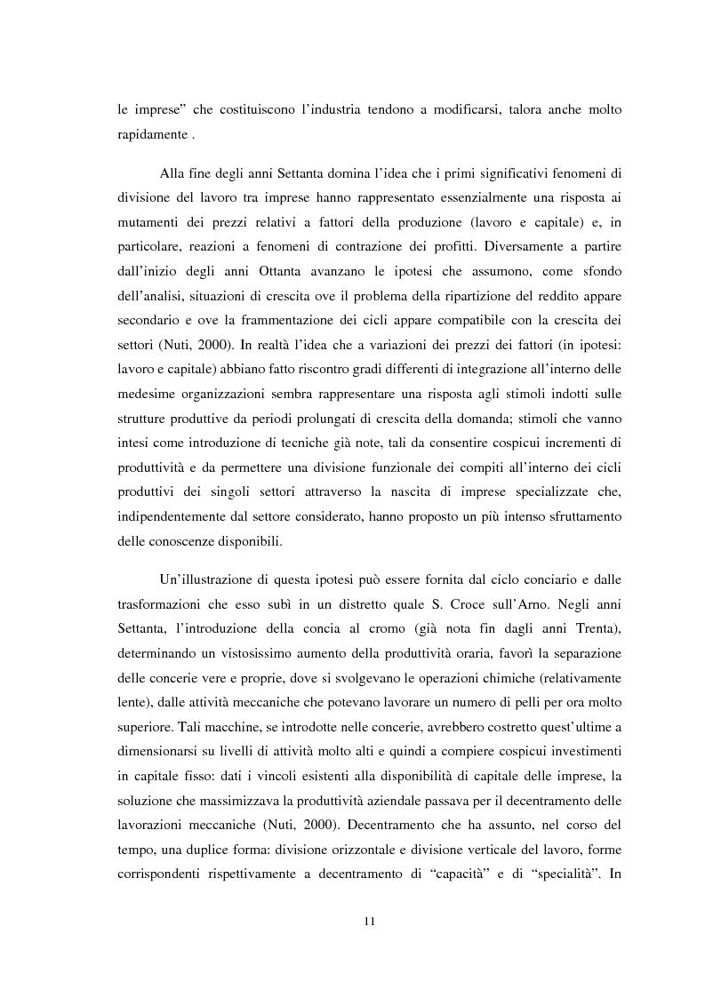 Anteprima della tesi: Il ruolo della conoscenza nei processi di internazionalizzazione dei distretti industriali, Pagina 8