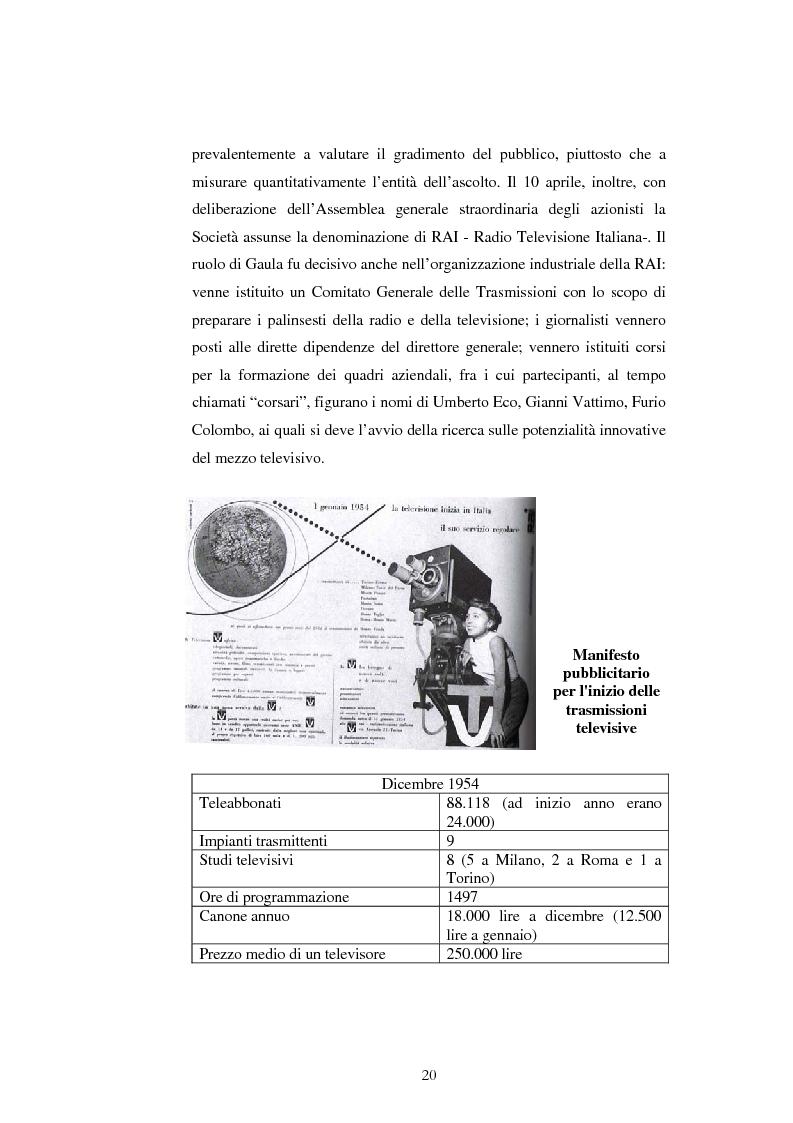 Anteprima della tesi: Produzione televisiva. La gestione di un programma televisivo nell'era della neotelevisione, Pagina 10
