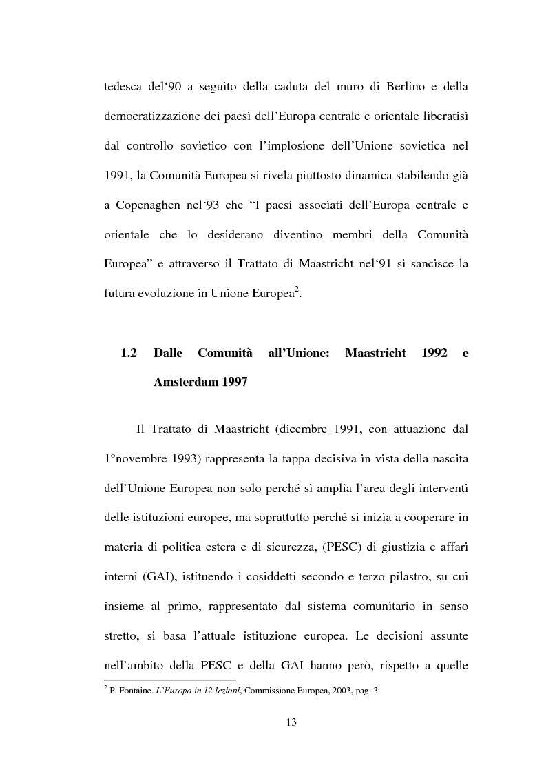 Anteprima della tesi: I non temi della campagna elettorale europea - le rappresentazioni mediali e politiche dell'istituzione europea, Pagina 8
