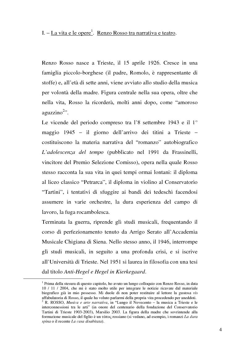 Anteprima della tesi: Edipo (e gli altri) - la riscrittura del mito nella drammaturgia di Renzo Rosso, Pagina 1