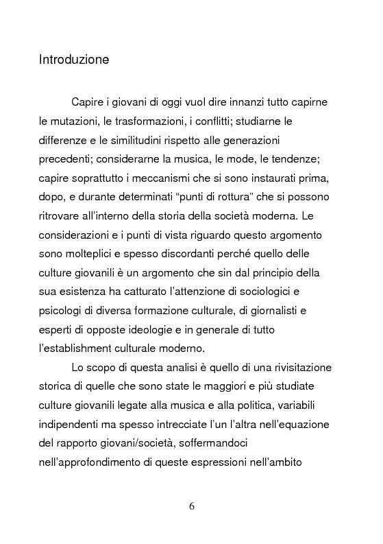 Anteprima della tesi: Underground & Commercial. Etnografia dei diversi volti dell'HipHop a Roma., Pagina 1