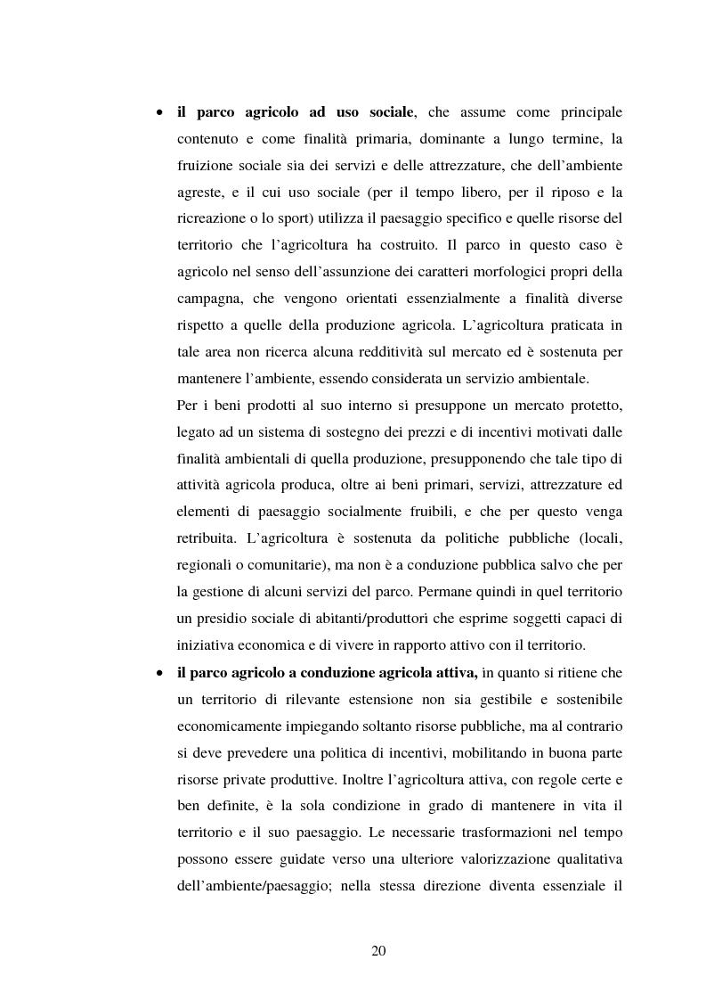 Anteprima della tesi: Il Parco dell'Alta Murgia come fattore di sviluppo locale dell'area, Pagina 15