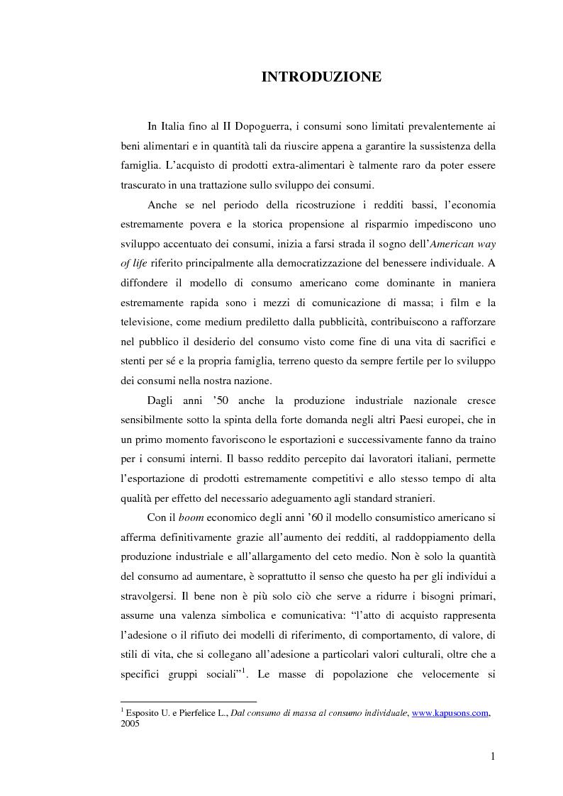 Anteprima della tesi: La dissonanza cognitiva post-acquisto: Festinger al servizio del marketing, Pagina 1