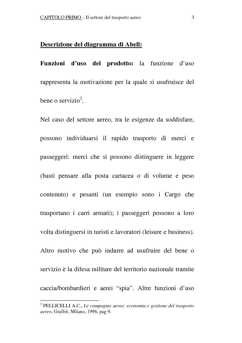 Anteprima della tesi: Trattamento contabile dei beni strumentali (aeromobili) nel settore del trasporto aereo, Pagina 8