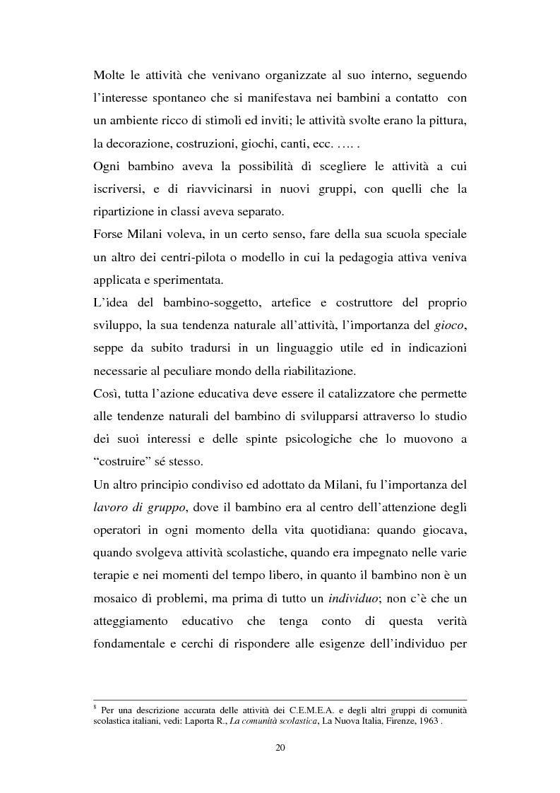 Anteprima della tesi: Gli interessi culturali dell'educatore come risorsa educativa, Pagina 13