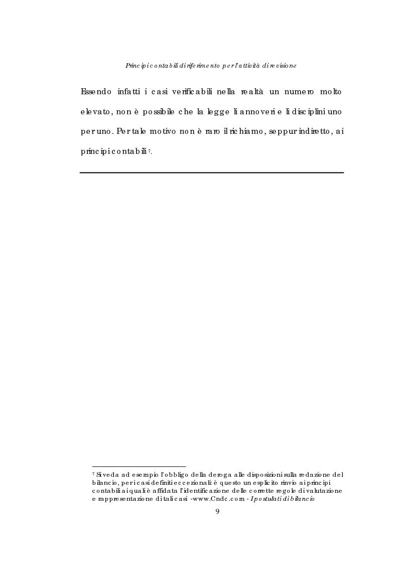 Anteprima della tesi: La revisione delle immobilizzazioni materiali, Pagina 9