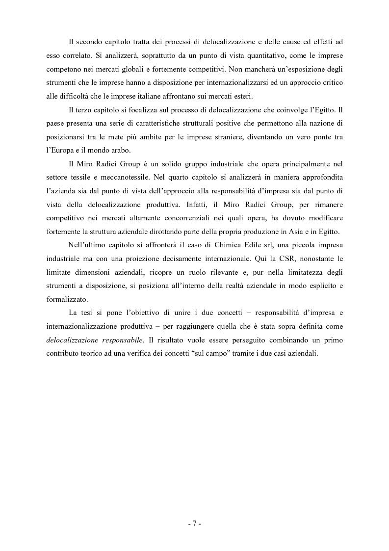 Anteprima della tesi: La responsabilità d'impresa nei processi di internazionalizzazione, Pagina 3