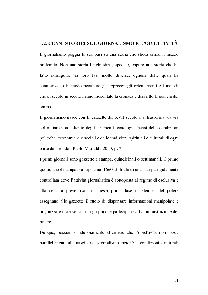 Anteprima della tesi: Giornalismo, la verità possibile, Pagina 7