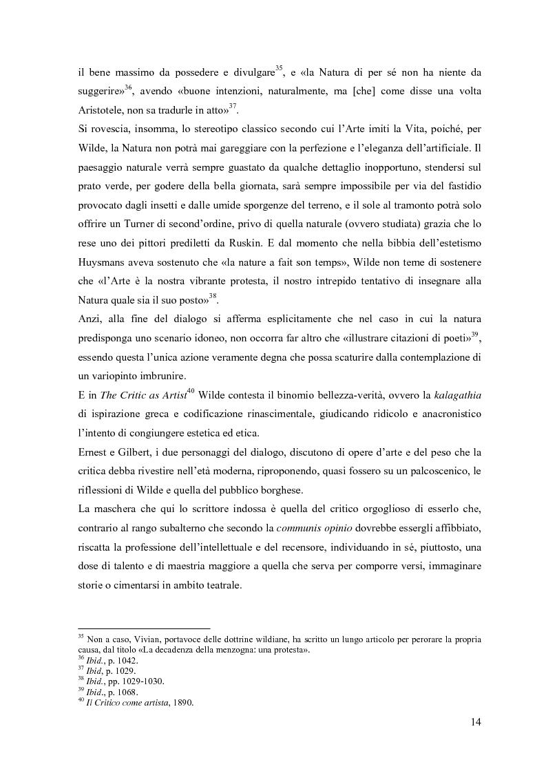 """Anteprima della tesi: """"Break bitter furies of complexity"""": self e anti-self nel teatro di W. B. Yeats, Pagina 14"""