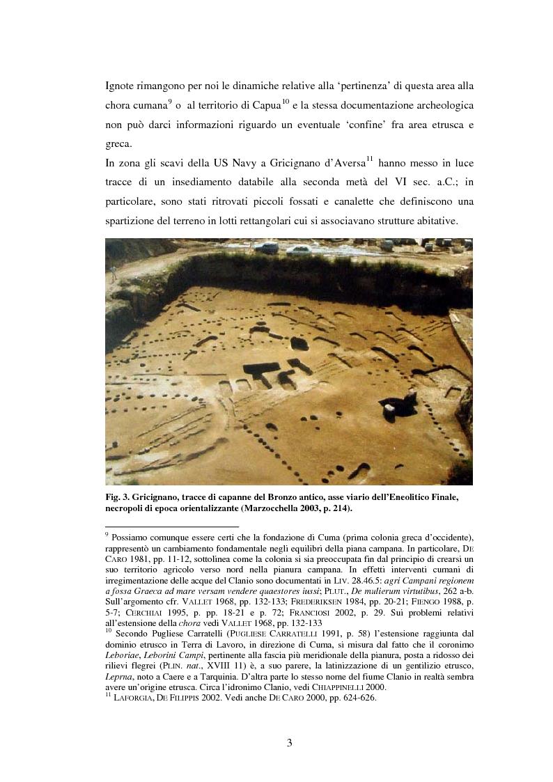 Anteprima della tesi: Topografia antica del territorio dei comuni di Casapesenna e San Cipriano d'Aversa, Pagina 3