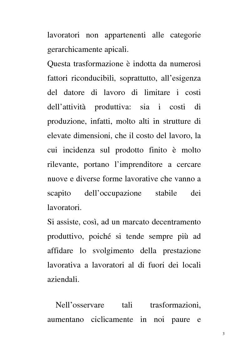 Anteprima della tesi: E - Learning e Telelavoro, Pagina 2