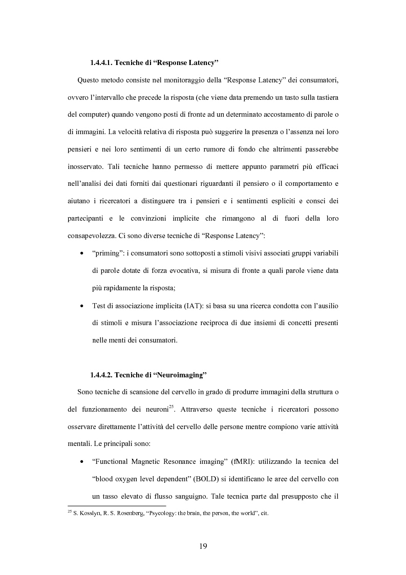Estratto dalla tesi: La soddisfazione etica del consumatore: fondamenti logici ed evidenza empirica