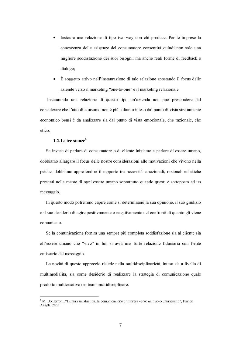 Anteprima della tesi: La soddisfazione etica del consumatore: fondamenti logici ed evidenza empirica, Pagina 7