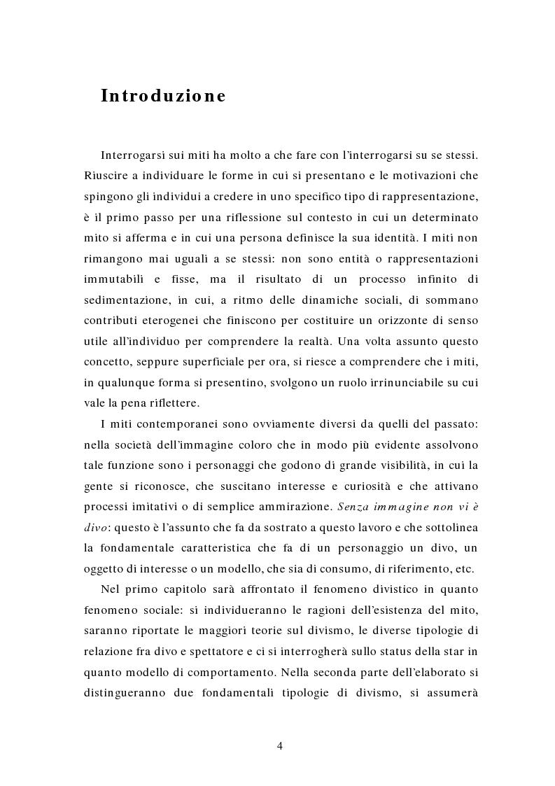 Anteprima della tesi: Miti e divi della postmodernità, Pagina 1