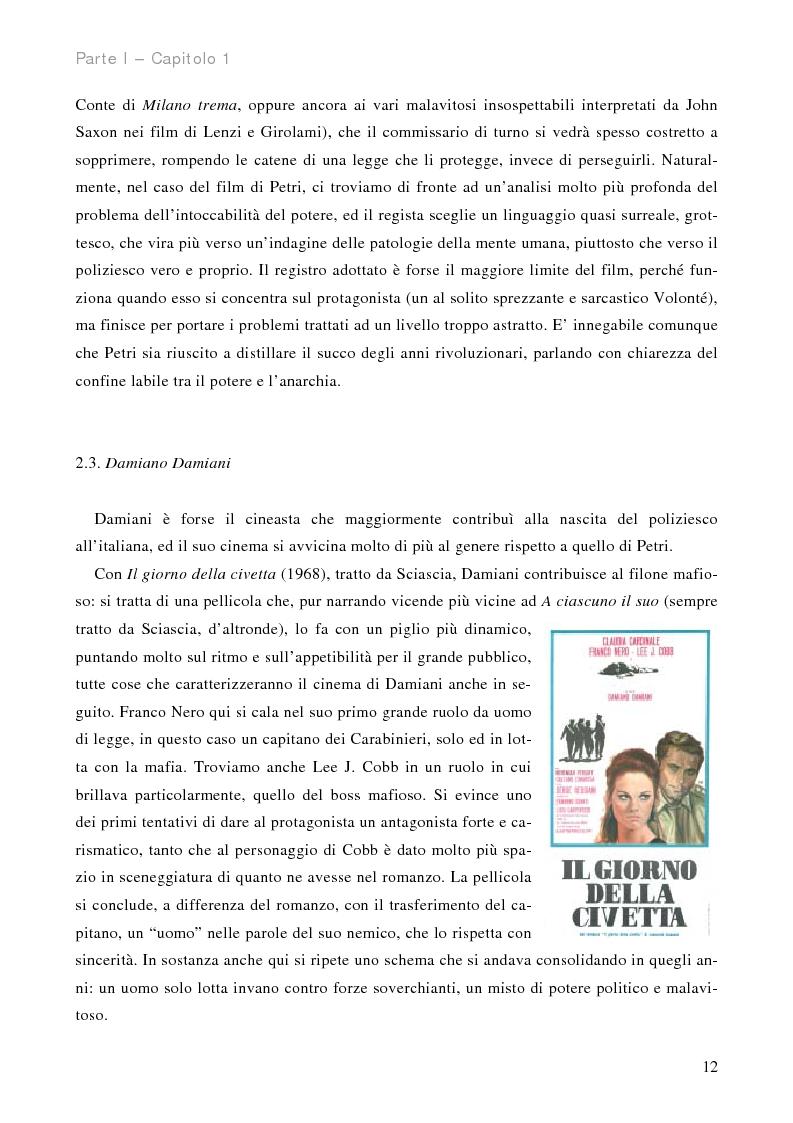 Anteprima della tesi: Stagioni di piombo - Il cinema poliziesco all'italiana, Pagina 12