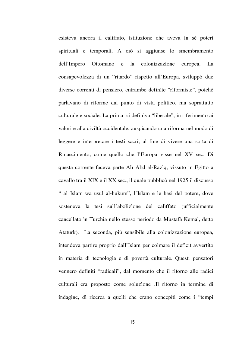 Anteprima della tesi: I diversi volti del terrorismo islamico, Pagina 15