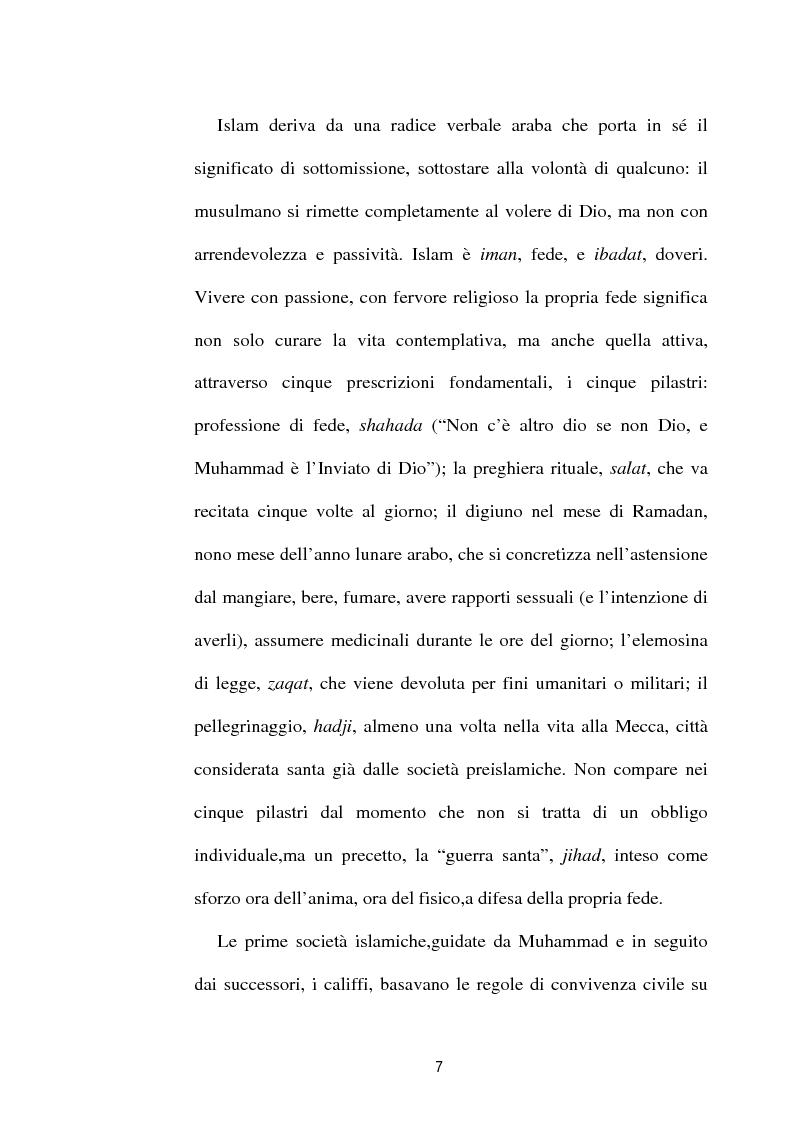 Anteprima della tesi: I diversi volti del terrorismo islamico, Pagina 7