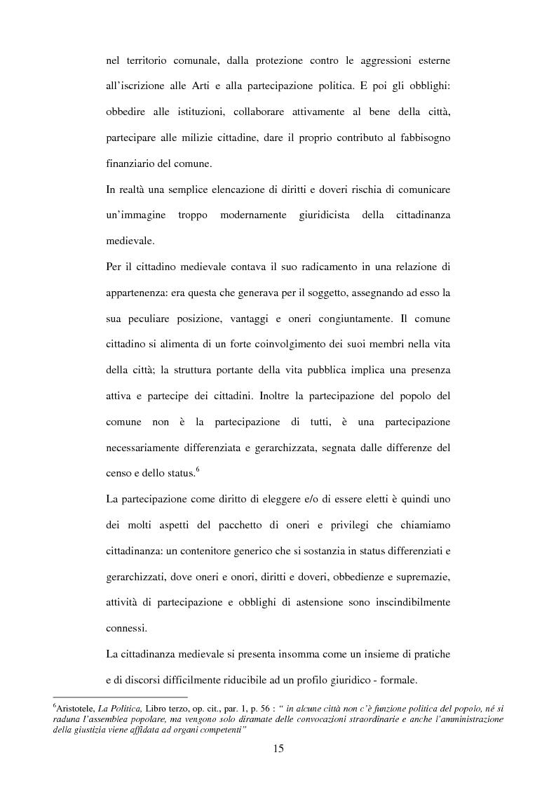 Anteprima della tesi: La cittadinanza tra antichità e postmodernità, Pagina 12