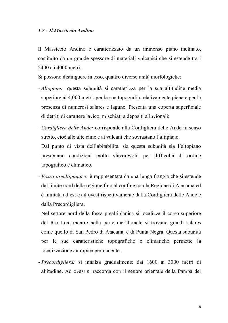 Anteprima della tesi: Studio geomorfologico della costa della città di Antofagasta (Cile), Pagina 6