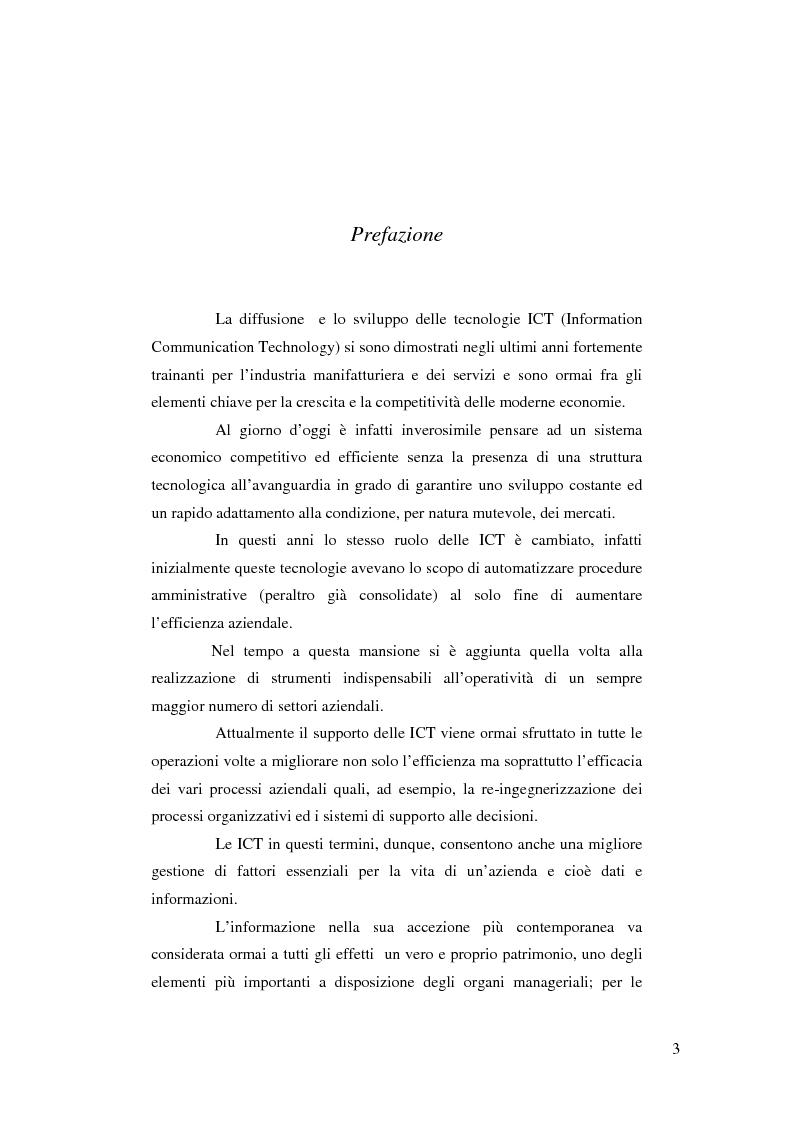 Anteprima della tesi: I sistemi informativi aziendali, Pagina 1