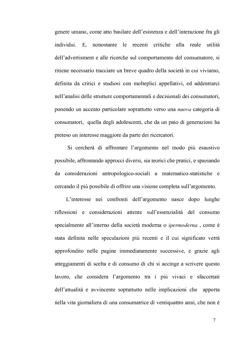 Anteprima della tesi: La dinamica consumo comunicazione secondo una prospettiva multidisciplinare, Pagina 4