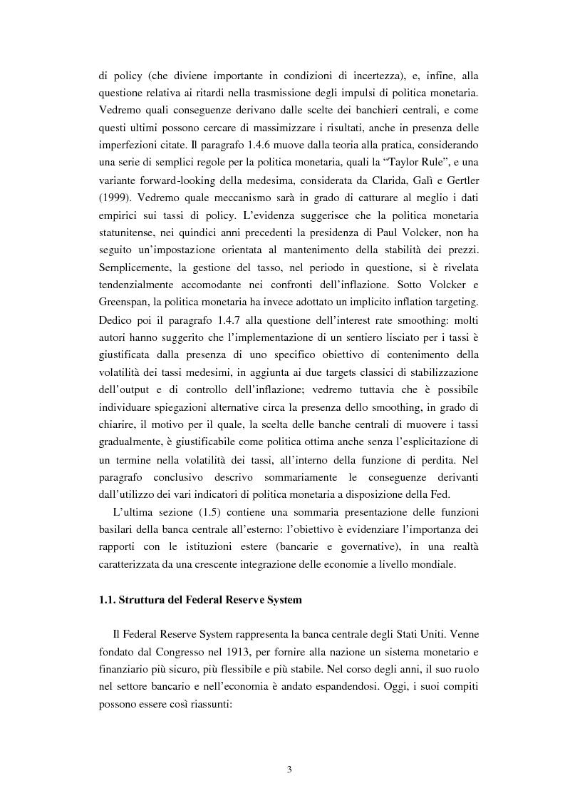 Anteprima della tesi: Il ruolo dei modelli macroeconomici nelle decisioni della FED: un'analisi della recessione del 90-91, Pagina 8