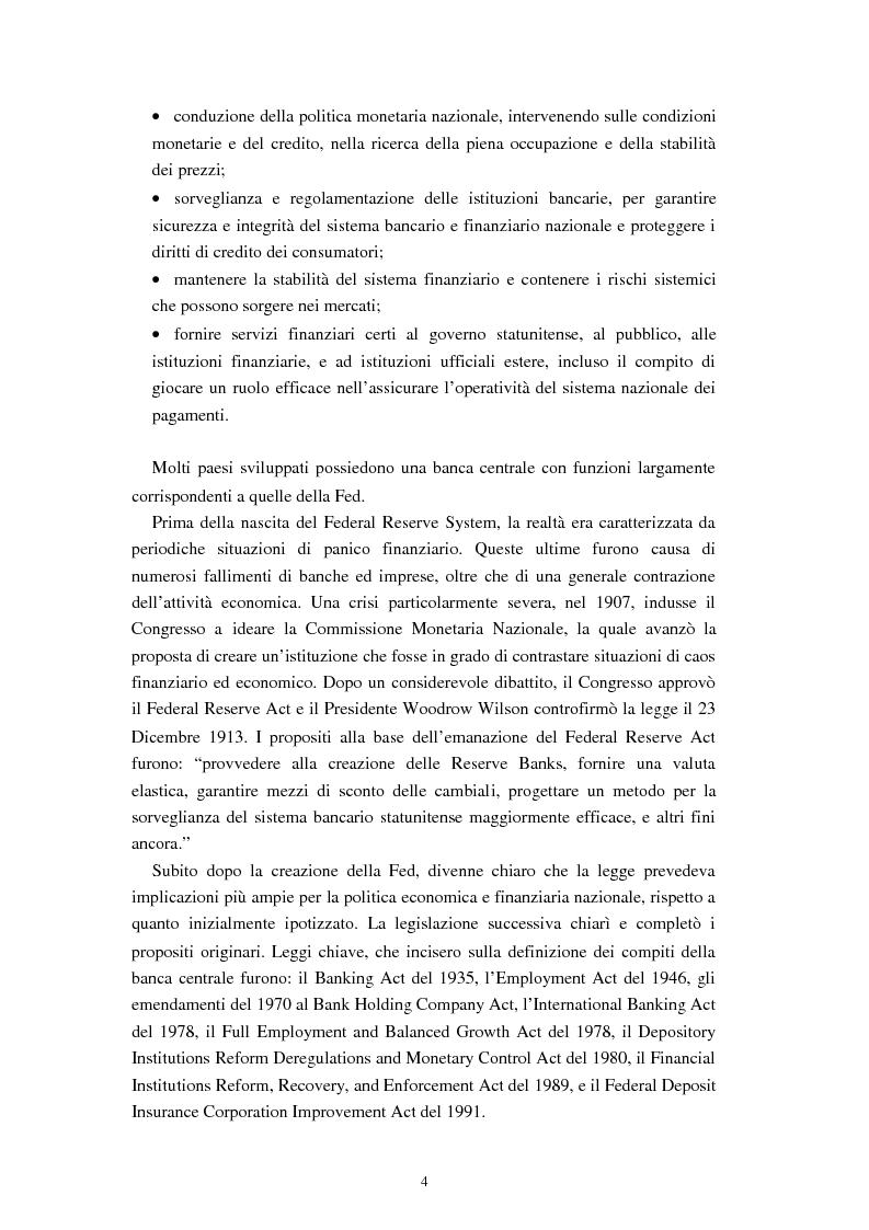 Anteprima della tesi: Il ruolo dei modelli macroeconomici nelle decisioni della FED: un'analisi della recessione del 90-91, Pagina 9