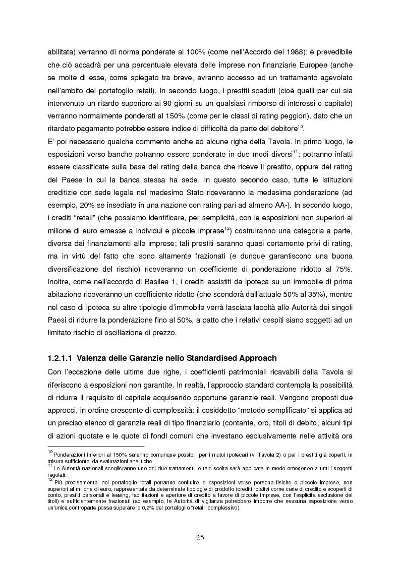 Anteprima della tesi: Progettazione e implementazione di un sistema di internal rating: il caso banca Alfa, Pagina 13