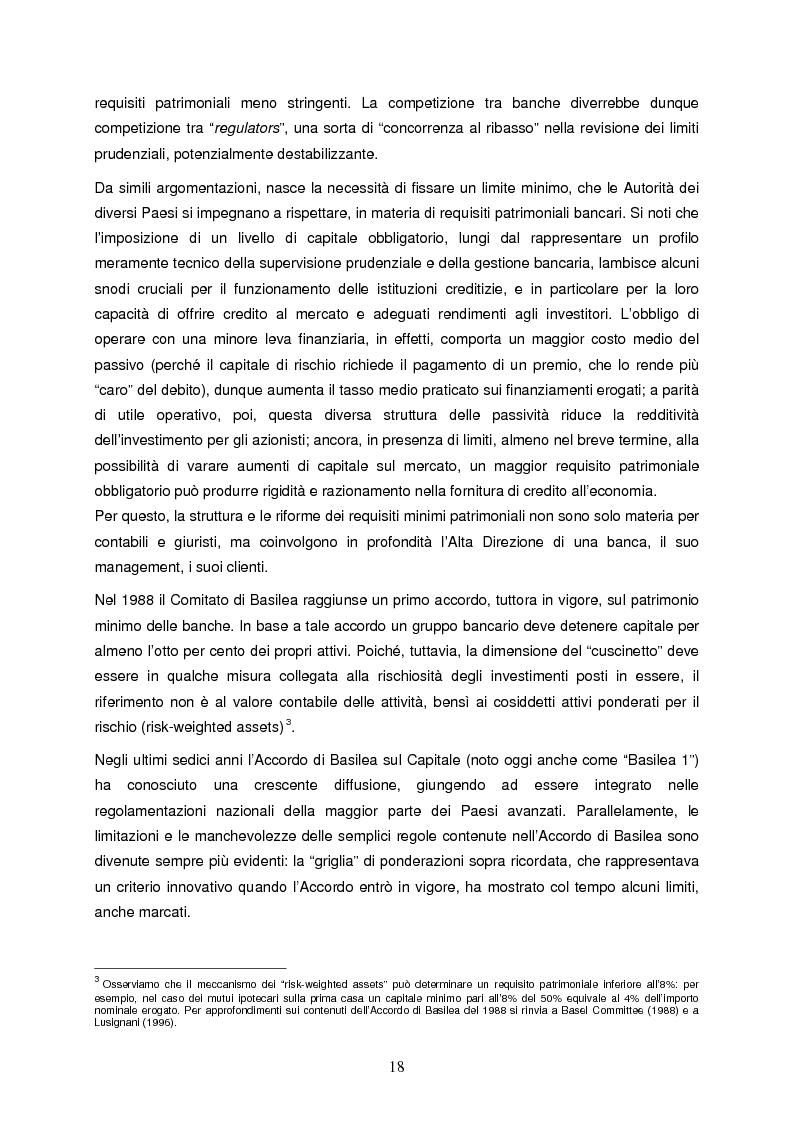 Anteprima della tesi: Progettazione e implementazione di un sistema di internal rating: il caso banca Alfa, Pagina 6