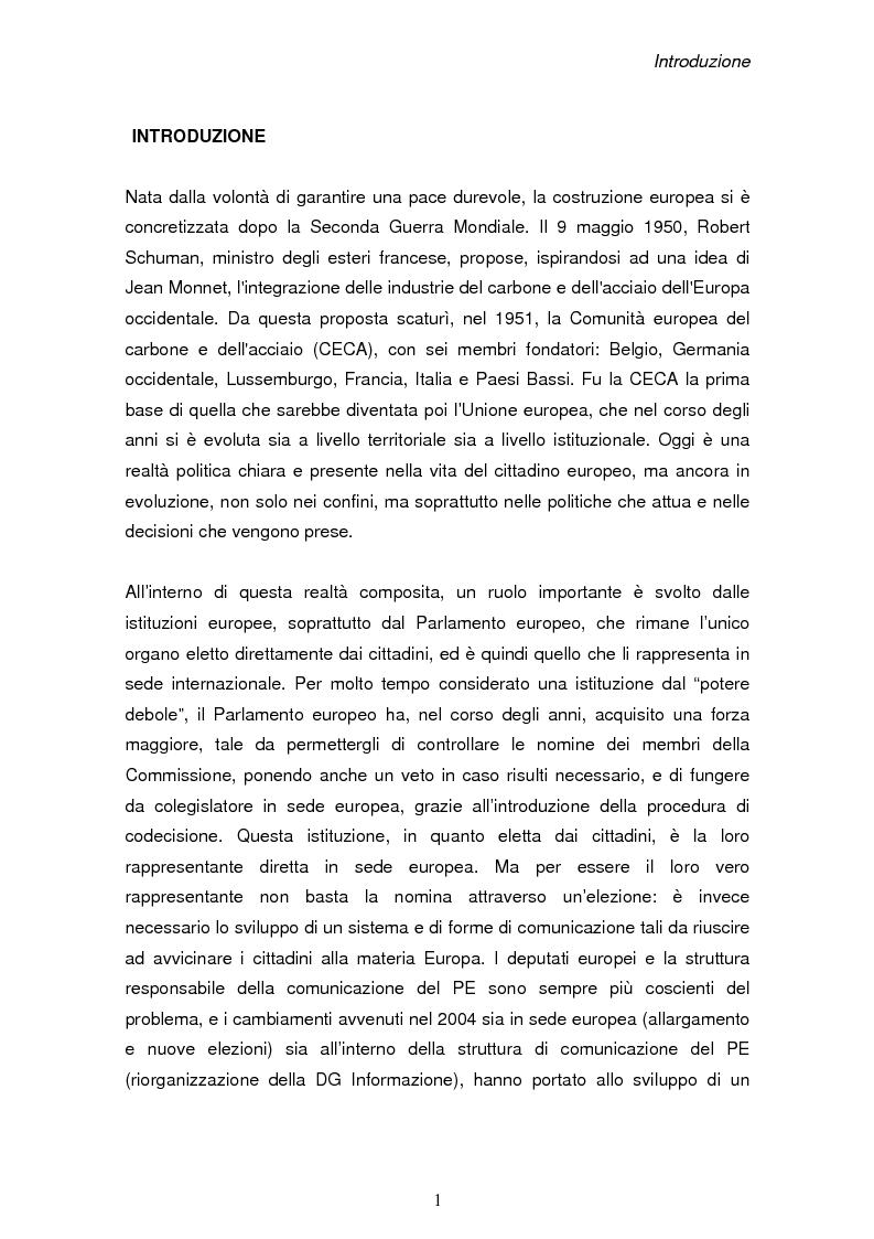 L 39 europa comunicazione forme e strutture della for Struttura del parlamento