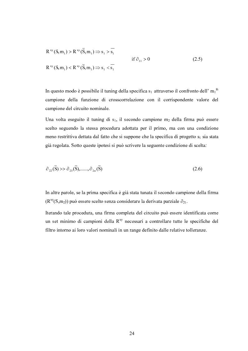 Anteprima della tesi: Collaudo di un filtro attivo per UMTS mediante sequenze pseudocasuali: verifica sperimentale, Pagina 15