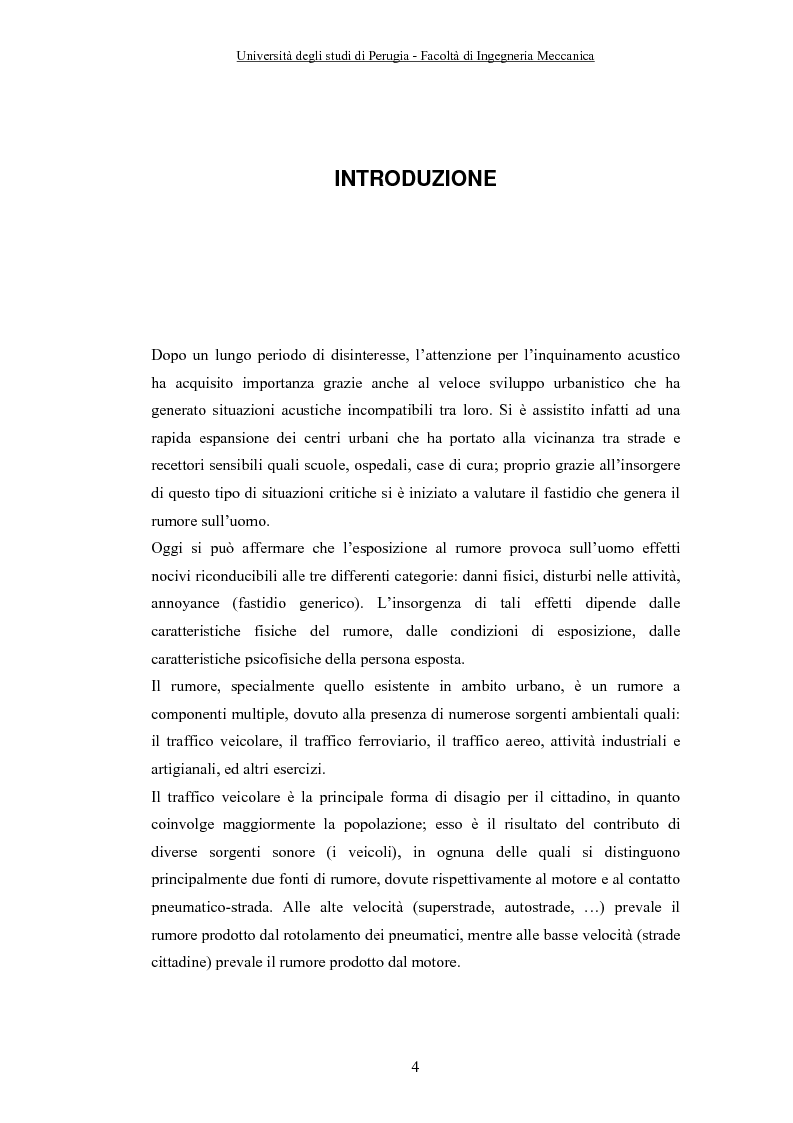 Anteprima della tesi: Influenza delle Condizioni Meteorologiche sulla Propagazione del rumore generato da Infrastrutture Stradali, Pagina 1