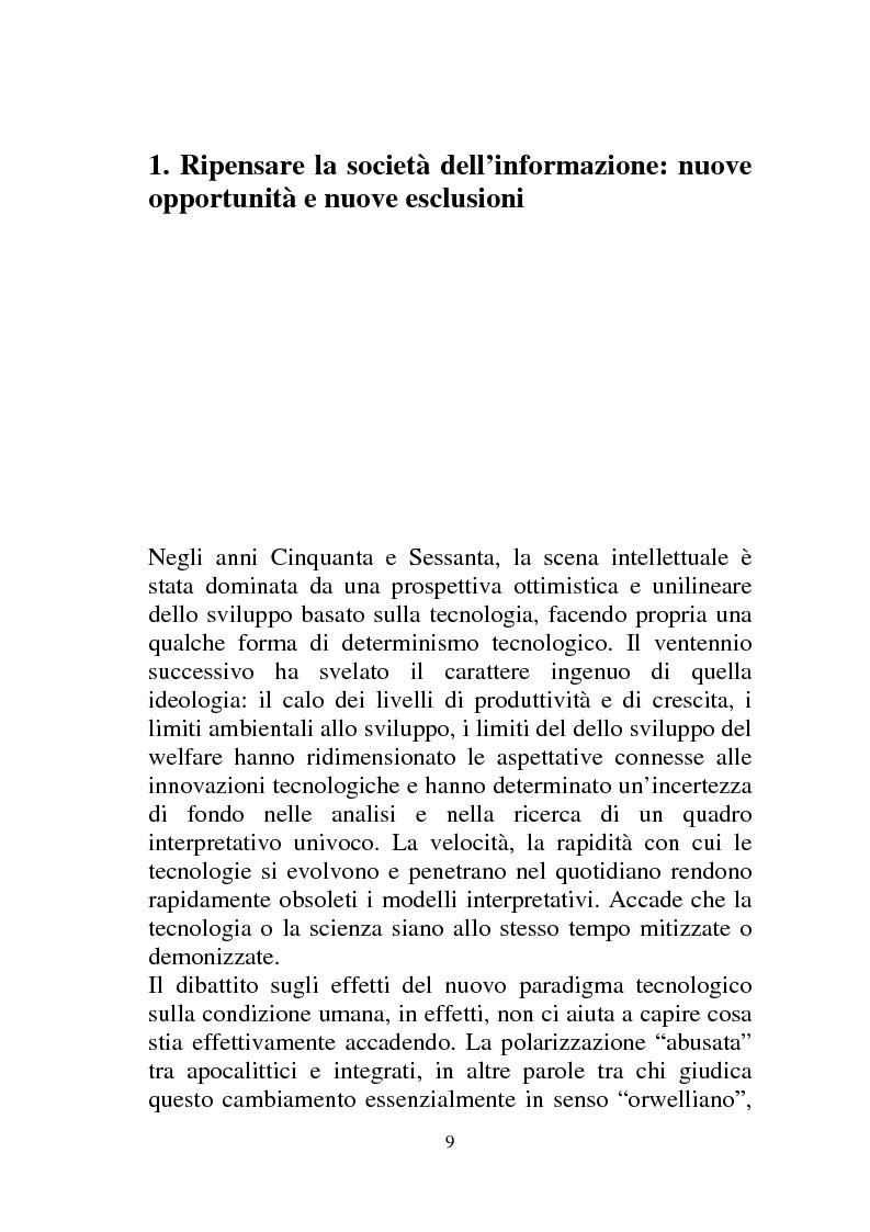Anteprima della tesi: Digital con-divide. Condivisione e software libero nella lotta al digital divide., Pagina 7