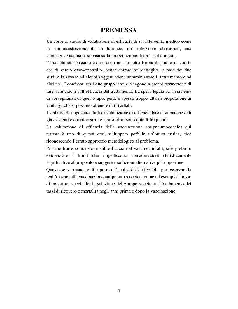 La vaccinazione antipneumococcica nella popolazione ultrasessantacinquenne dell'AUSL di Bologna citt�: possibilit� e lim...