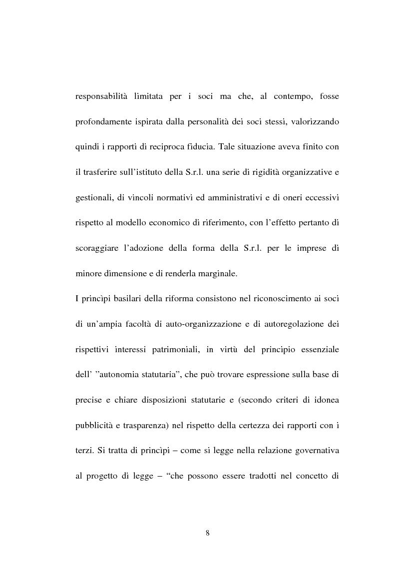 Anteprima della tesi: L'assemblea della nuova s.r.l., Pagina 6