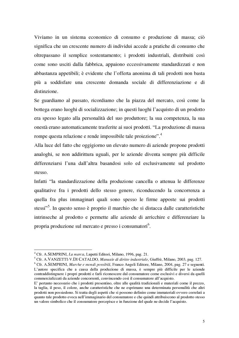 Anteprima della tesi: Nomi e segni notori (art. 21 n.3 legge marchi), Pagina 3
