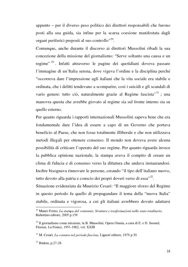 """Anteprima della tesi: I giornali regionali nell'epoca fascista. Il caso del """"Telegrafo"""", Pagina 14"""